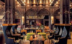 Chicago Athletic Association Hotel | The conversion of an athletic club into a hotel imaginatively combines modern and historic architectural flourishes for an updated approach to play and respite. By Hartshorne Plunkard Architecture and Roman and Williams Buildings and Interiors.