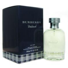 Burberry Weekend Men's 3.4-ounce Eau de Toilette Spray (Weekend, Men, EDT Spray 3.4 oz), Orange tangerine, Size 3.1 - 4 Oz.