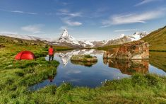 Back to basics: camping tips for your first outdoor adventure Camping Checklist, Camping Essentials, Camping Hacks, Zermatt, Swiss Travel, Camping Needs, Aarhus, Campsite, Canoe