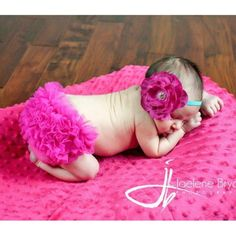 Beautiful Pink Color Photos The colors make our life beautiful. Ruffle Bloomers, Chiffon Ruffle, Ruffles, Red And Pink, Pretty In Pink, Hot Pink, Christening Cake Girls, Baby Poses, Everything Pink
