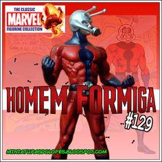 Miniaturas do Lopes!: Homem-Formiga - Miniaturas Marvel