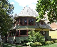 Early Frank Lloyd Wright Home Designs In Oak Park, Illinois   Travel Photos  By Galen R Frysinger, Sheboygan, Wisconsin