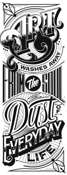 Typography Mania #204   Abduzeedo Design Inspiration