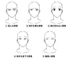 ゲス顔の描き方_目