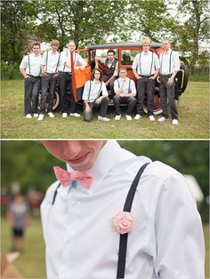 his bow tie is perfect!!! // groomsmen style