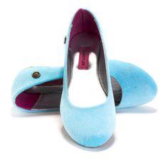 blue sky women shoes vegan flat shoes ballerina by NettaGertler