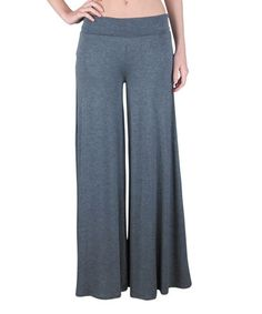 Look what I found on #zulily! Charcoal Palazzo Pants #zulilyfinds