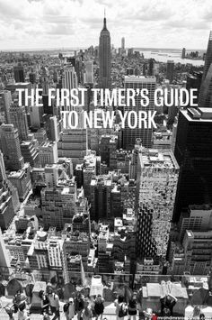 Mr and Mrs Romance - The First timer's guide to New York