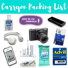 Carryon Packing List: What I Pack In My Carry On Bag + A Free Downloadable Printable Checklist! #travel