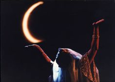 Leila Haddad performing the Dance of the Seven Veils