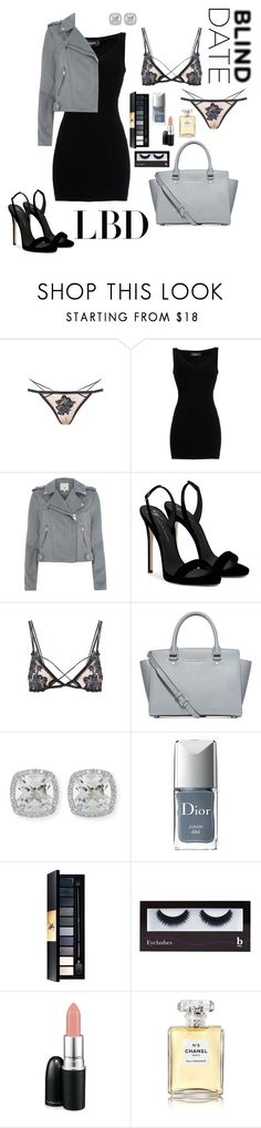 """""""Blind Date"""" by amalilly619 ❤ liked on Polyvore featuring For Love & Lemons, Dsquared2, River Island, Giuseppe Zanotti, Michael Kors, Frederic Sage, Christian Dior, John Lewis, BBrowBar and MAC Cosmetics"""