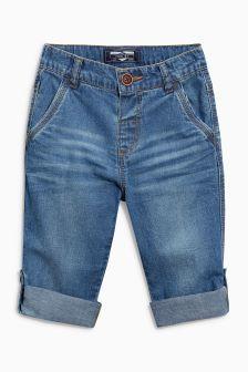 Lightweight Roll Hem Jeans (3mths-6yrs) (115202) | £11 - £12