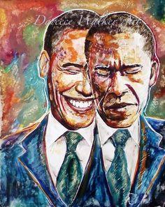 Obama by Dareece Jordan Walker - www.facebook.com/RealDWalker -  FUNK GUMBO RADIO: http://www.live365.com/stations/sirhobson and http://twitter.com/FUNKGUMBO
