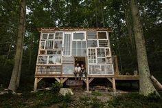 dům z oken