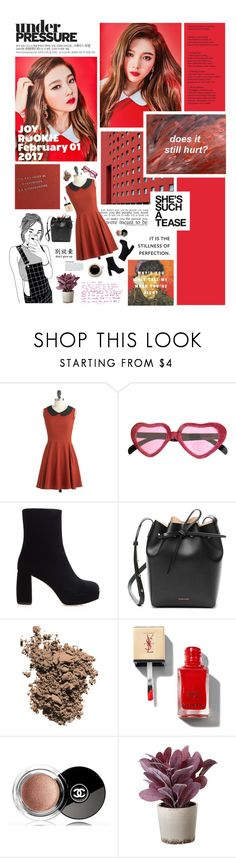 """""""survive"""" by ummiverse ❤ liked on Polyvore featuring Love Quotes Scarves, GET LOST, Miu Miu, Mansur Gavriel, Dolce&Gabbana, Chanel and Torre & Tagus"""