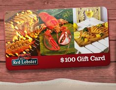Get a FREE Red Lobster Gift Card