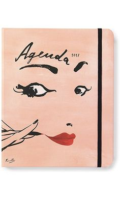 Kate Spade New York 2017 17-Month Large Agenda - Illustrative Read My Lips Best Price