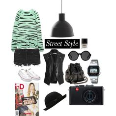 STREET STYLE, created on Polyvore