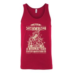 Super Saiyan Vegeta and Trunks Dad Unisex Tank Top T Shirt - TL00460TT