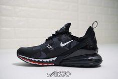 competitive price 8aaef 95a70 Nike Air Max 270 X A Bathing APE Black Camo Air Max 180, Camo Men,