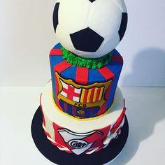 Barcelona & River Plate soccer team cake #barcelonacake #riverplatecake #elbarca #barcelona #soccer #celebration #happybirthday #cakedesign #instacake #torontocakes #eventplanner #toronto #torontolife #dulcecarolina76 by dulcecarolina76. riverplatecake #toronto #elbarca #happybirthday #eventplanner #torontocakes #barcelona #cakedesign #dulcecarolina76 #instacake #soccer #celebration #barcelonacake #torontolife #meetingprofs #eventprofs #events #eventplanning #eventplanner #eventtech #travel…