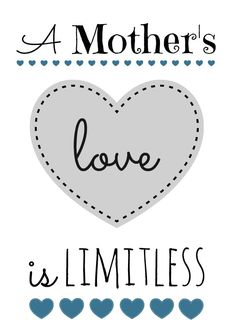 Free Mother�s Day Printable � 6 Color Options!