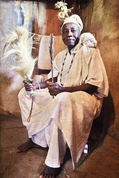 Emissaries of an iconic religion8. Orisa Ayelala [deity of protection] - Chief Olasupo Awolowo