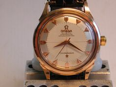 Truly Stunning Vintage Omega Constellation in 18K Rose Gold With Pie-Pan Dial #Watchpron #Boss #Omega #Piepan - omegaforums.net