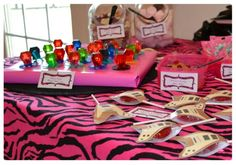 candy bar, glam rings