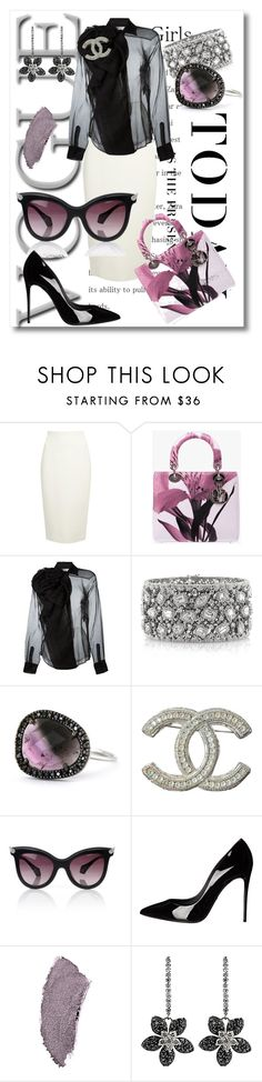 """""""Maybe"""" by tsma ❤ liked on Polyvore featuring Levi's, Donna Karan, Christian Dior, Mark Broumand, Chanel, Vivienne Westwood and Dolce&Gabbana"""