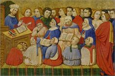 St. Augustine as a teacher.