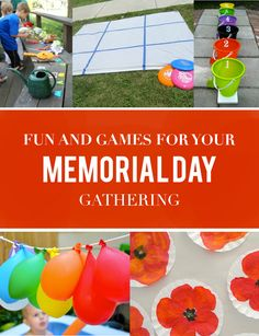 Whether you're going all out or having a low key gathering, these activities will make your family's Memorial Day extra special.