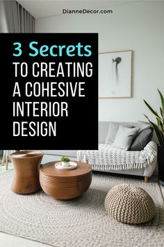 Well-designed homes always have one thing in common. It is a cohesive interior design scheme. Here's how to do it in your home.    #interiordesign #interiordecorating #homedesign #designhome #homedecorating #interiors #roomideas Decorating Tips, Interior Decorating, Rental Home Decor, Interior Styling, Interior Design, Shared Rooms, Better Homes And Gardens, Southern Living, Diy Room Decor