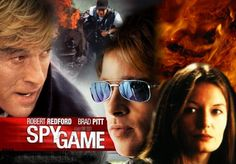 2001_SPY GAME_Robert Redford, Brad Pitt, Catherine McCormack...
