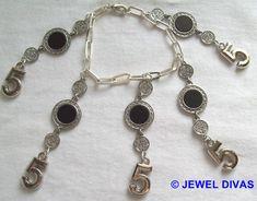 LUCKY NUMBER 5 - $7.50 - www.madeit.com.au/JewelDivas