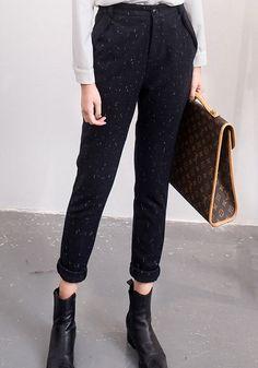 Vintage-Inspired Pants