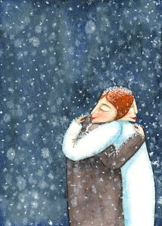 """""""There are those that don't feel the cold""""  © Mandy van Goeije, 2013"""