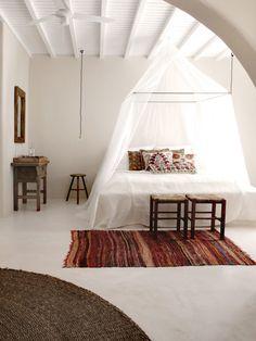 San Giorgio Mykonos Hotel in Greece 900x1201 Sleep Like a King: Dreamy Baldachin Ideas