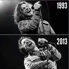 It's Evolution Baby! Eddie Vedder no matter how much things change, they stay the same.