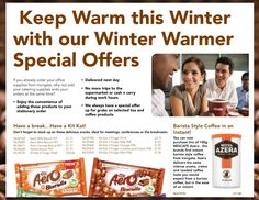 Winter Warmers for 2013