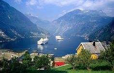 The flords of Norway, I really want to come back and see these in my lifetime.
