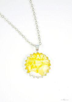 You are my sunshine Necklace ©nella designs, $19.00