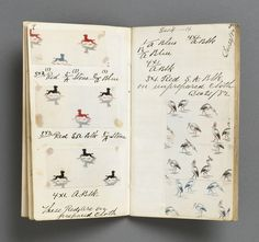 Printer's Sample Book, Shirtings 1882-3-4-5-6, 1882–88