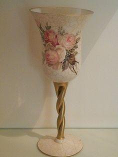 preciosa copa decorada