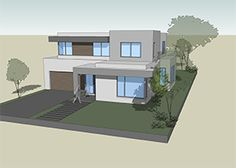 The best modern house designs. Find cool ultra modern mansion blueprints, small contemporary 1 story home designs & more! Cottage Style House Plans, New House Plans, Dream House Plans, Modern House Plans, Best Modern House Design, Modern Design, Modern Mansion, Modular Homes, Modern Exterior