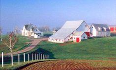The Orr Farm on the Snowie Road in Rusticoville, Prince Edward Island. Photo via Historic PEI.