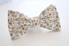 SELF-TIE ADJUSTABLE BOWTIE  The quality of my product is very important to me. All of the bow ties I sell are sewn, not glued. Each bow tie