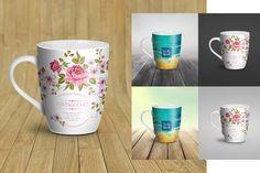 Mug Mock-Up Coffee cup, bowl, pan @creativework247