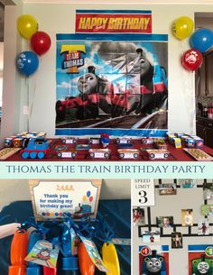 Thomas the Train Birthday Party - Leah With Love
