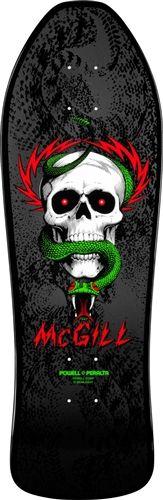 Powell Peralta McGill Skull n Snake Skin Deck Powell Peralta Black   Fishtail Fish Tail Bones Brigade Skateboard Deck International Orders Welcomed Ships Ship Shipping Old School Worldwide Best Lowest Price Worldwide Shipping Accepted Skate LTD.